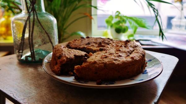 Vegan bananenbrood, een recept van Kim op www.purefoodie.nl